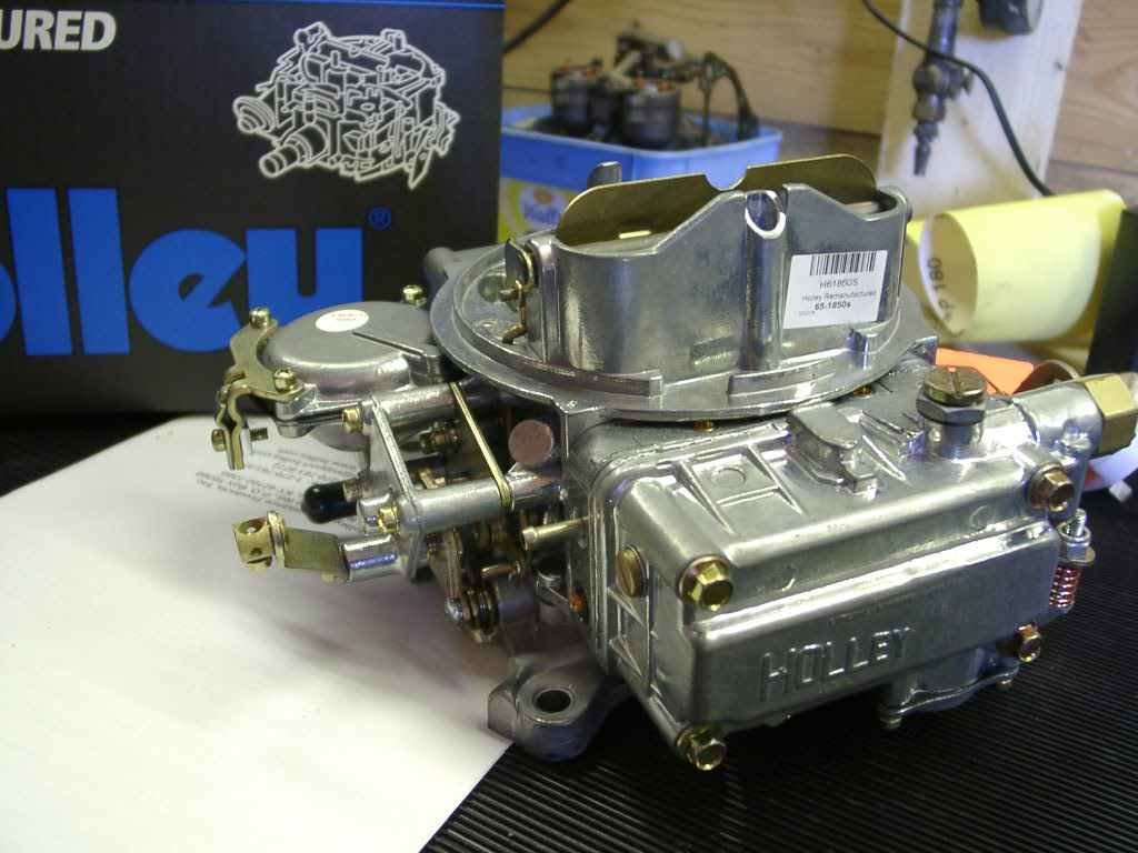 Converting a Holley carb into a throttle body