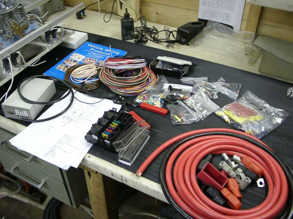 Wiring Harness Loom And Sensors Ends