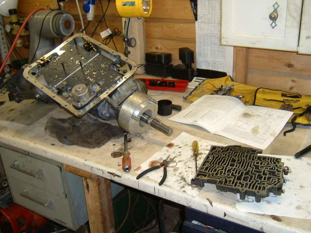 TH 700r4 TH350 Swap / Upgrade into Range Rover