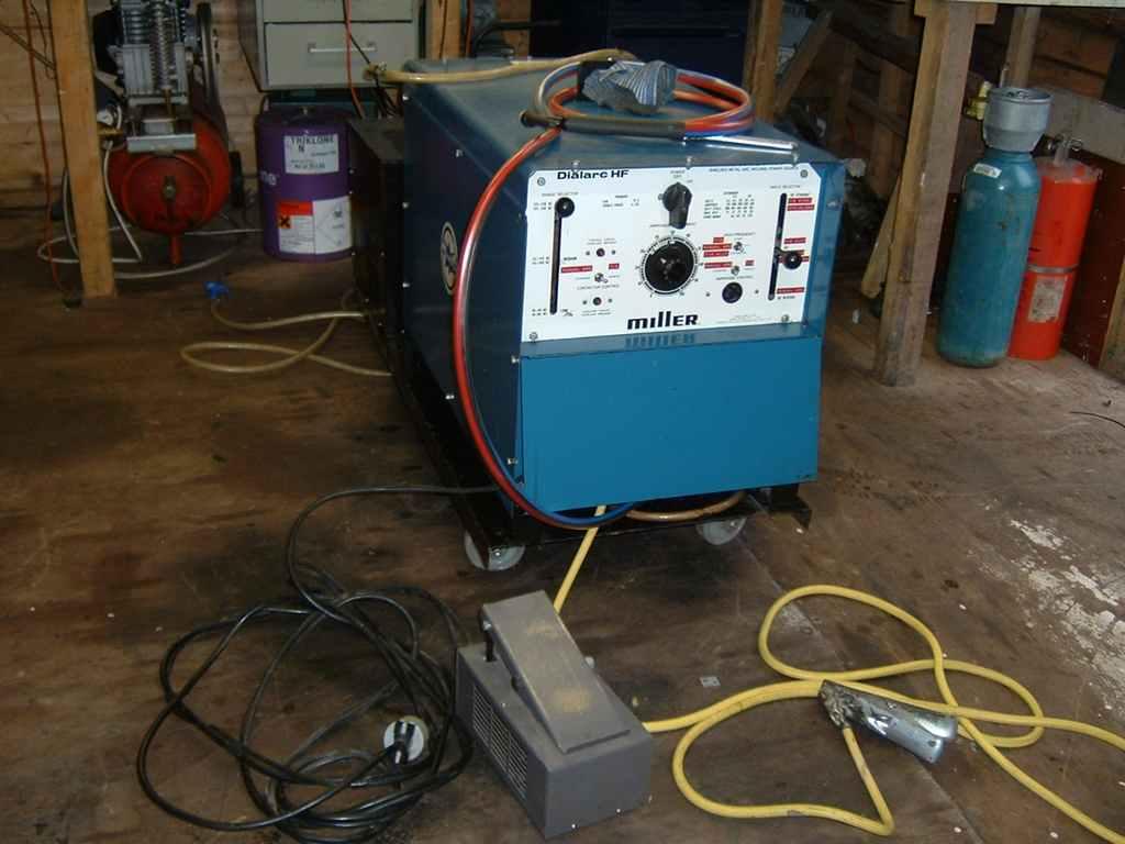 Repairing a Miller Dialarc 250 ac/dc tig welder