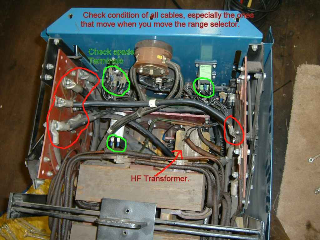 Repairing A Miller Dialarc 250 Ac Dc Tig Welder Well Pump Wire Diagram