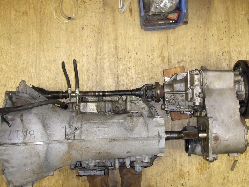 4l80e LT230 range rover conversion